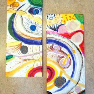 """Workshop """"Farbe trifft Form – abstrake Kunst"""""""